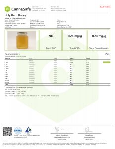 Holy Herb Honey Labs
